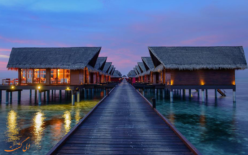نمای بیرونی از کلبه های هتل آداران پرستیژ اوشن ویلاز | Adaaran Prestige Ocean Villas