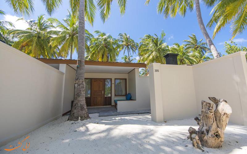 تصویری از ورودی خانه های اقامتگاه فان آیلند ریزورت | Fun Island Resort