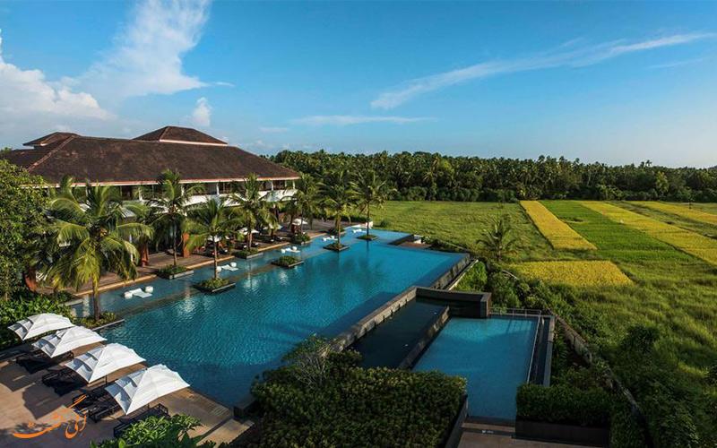 منظره سرسبز اطراف هتل آلیلا دیوا (Alila Diwa Hotel) در بهترین زمانسفر به گوا