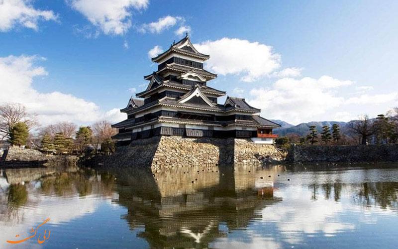 تصویر یک بنا با معماری سنتی ژاپنی