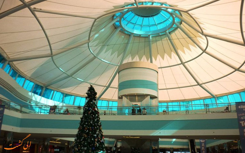 سقف زیبای مرکز خرید موشریف