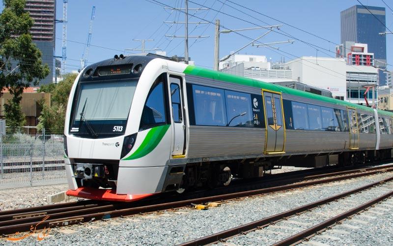 تصویری از حرکت یک قطار
