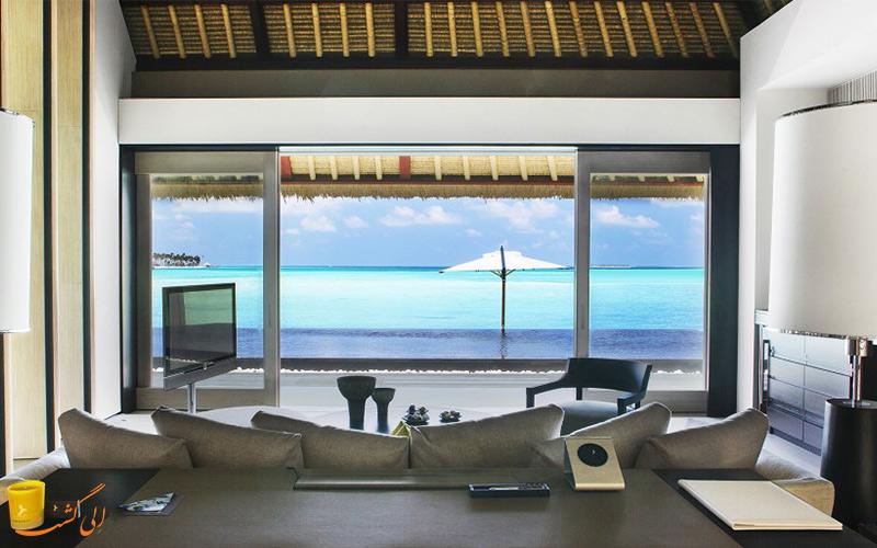 هتل لوکس شوال بلنک راندلی در مالدیو