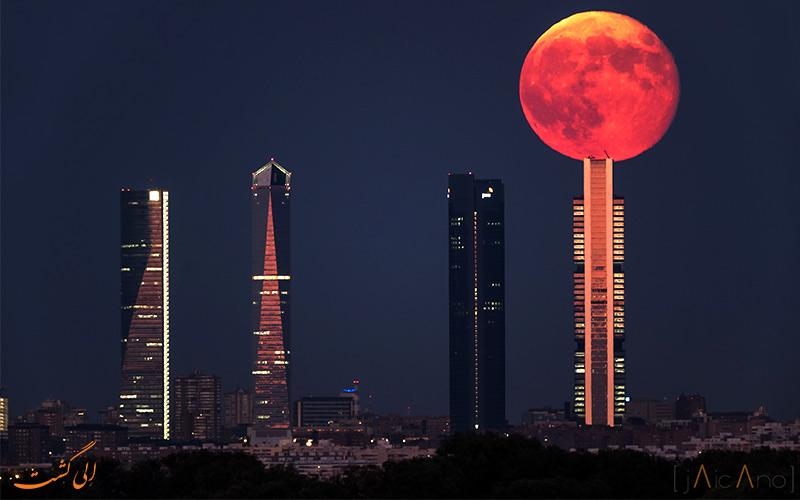 ابر ماه یا Supermoon از حقایق عجیب جهان