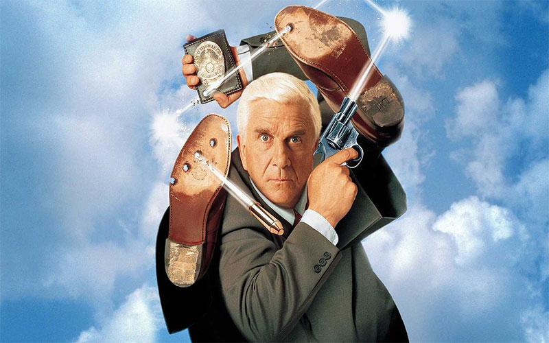 پوستر فیلم اسلحه برهنه