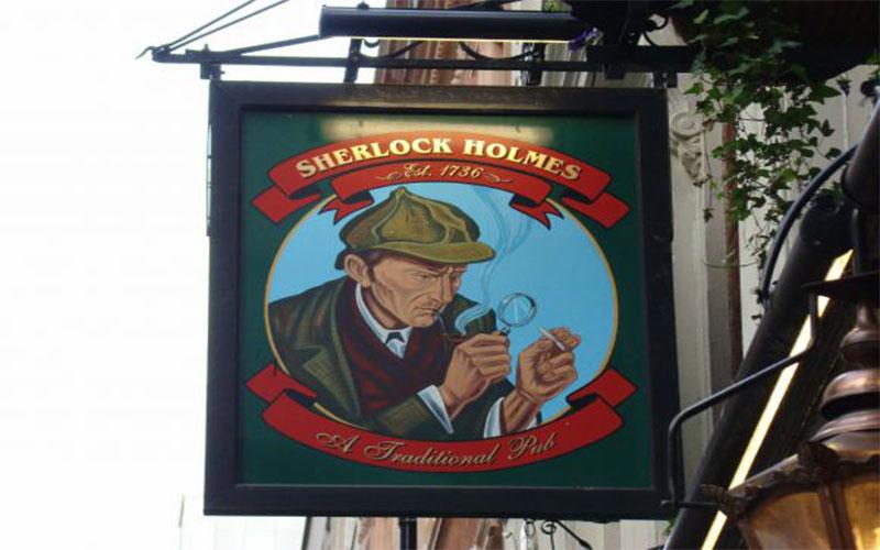 علامت شرلوک هولمز - سوغاتی لندن