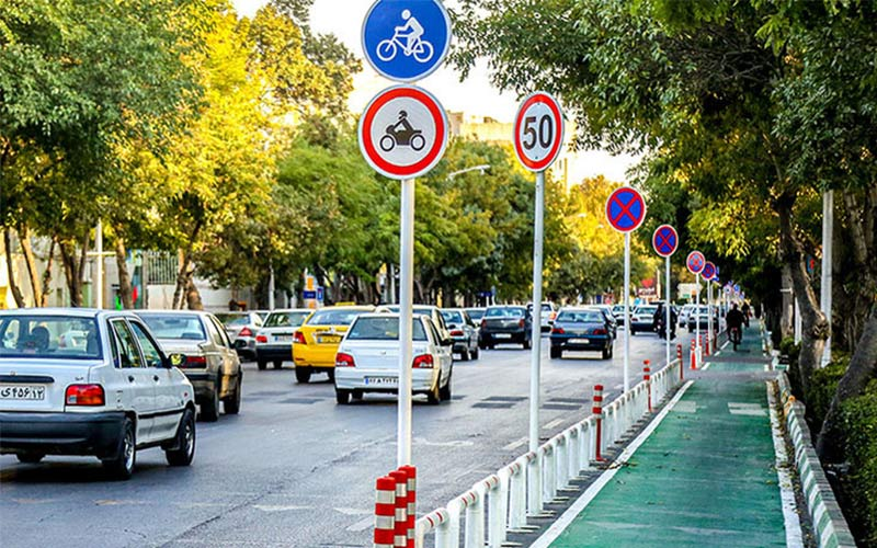 مسیرهای دوچرخه سواری برای حمل و نقل عمومی در مشهد