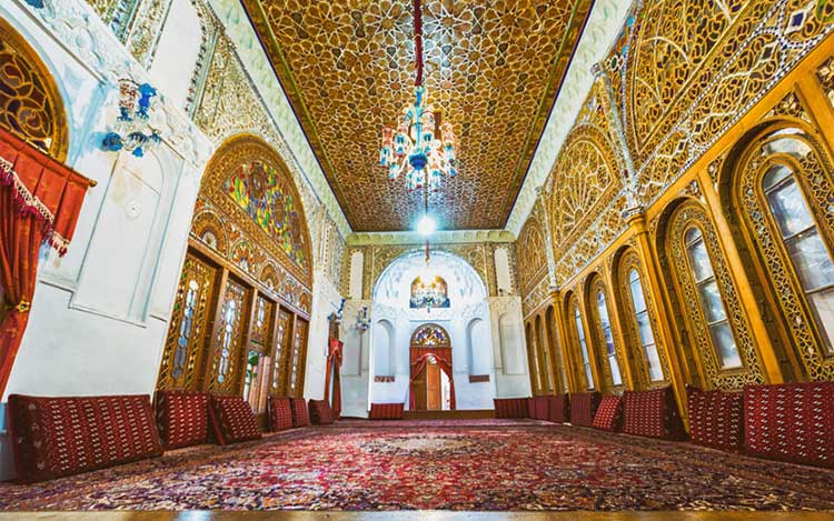 تالار خانه و حسینیه امینی ها در قزوین
