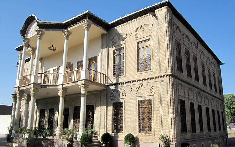 خانه و عمارت مفخم از بهترین خانه های تاریخی قزوین