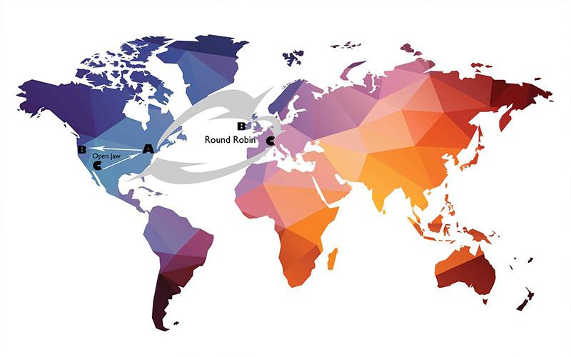 نقشه پروازهای کامباز