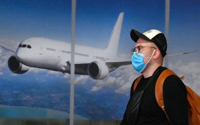 ویروس کرونا در هواپیما