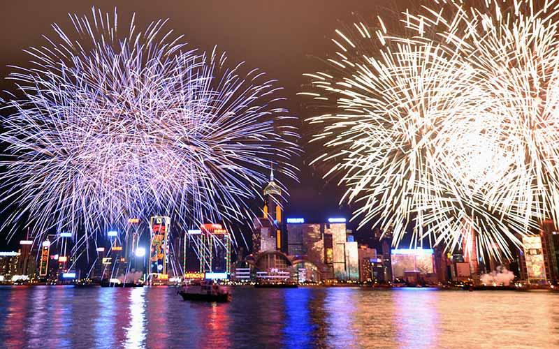 آتش بازی در شب سال نو