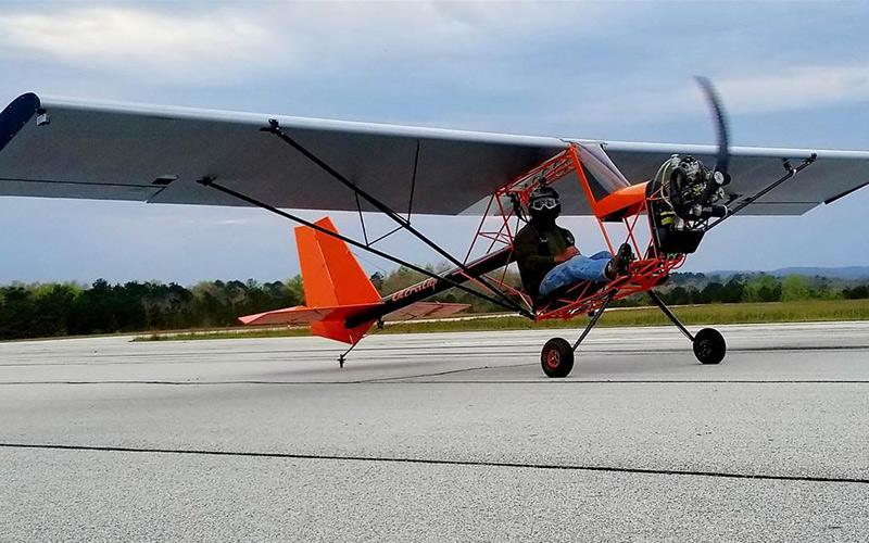 هواپیما سبک و فوق سبک با موتور ملخی