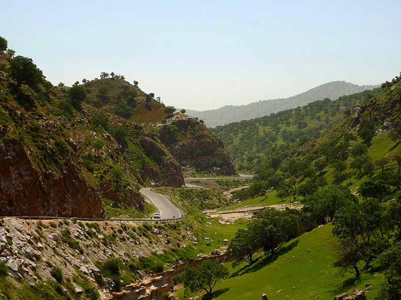 قلعه هزار درب ایلام، یکی از شگفت آورترین پادگان های نظامی در دوره ساسانی
