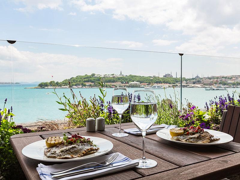 غذاهای رستوران-ماربلا-تراسر استانبول