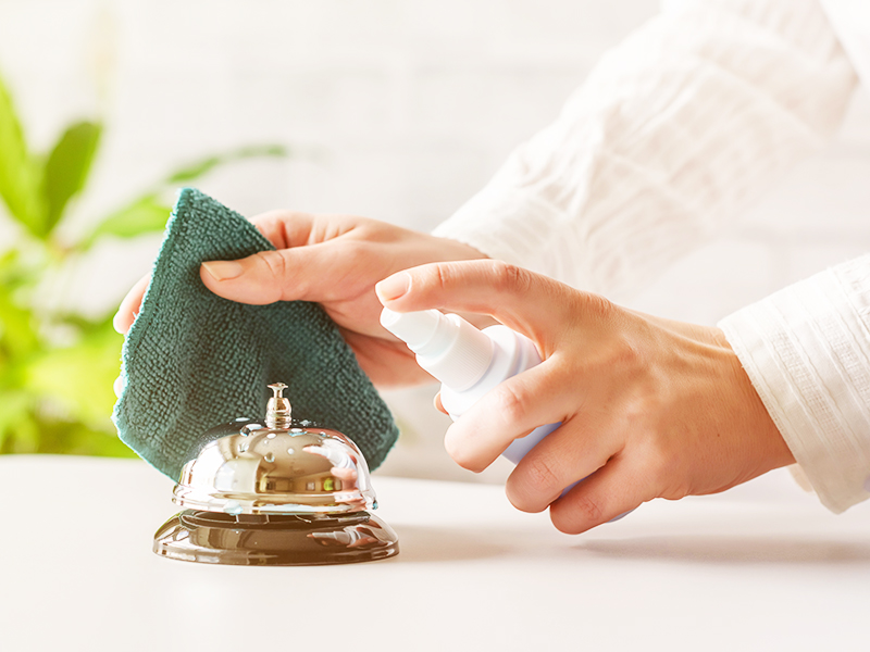 روش های ضد عفونی هتل و اقامت در دوران پاندمی کرونا