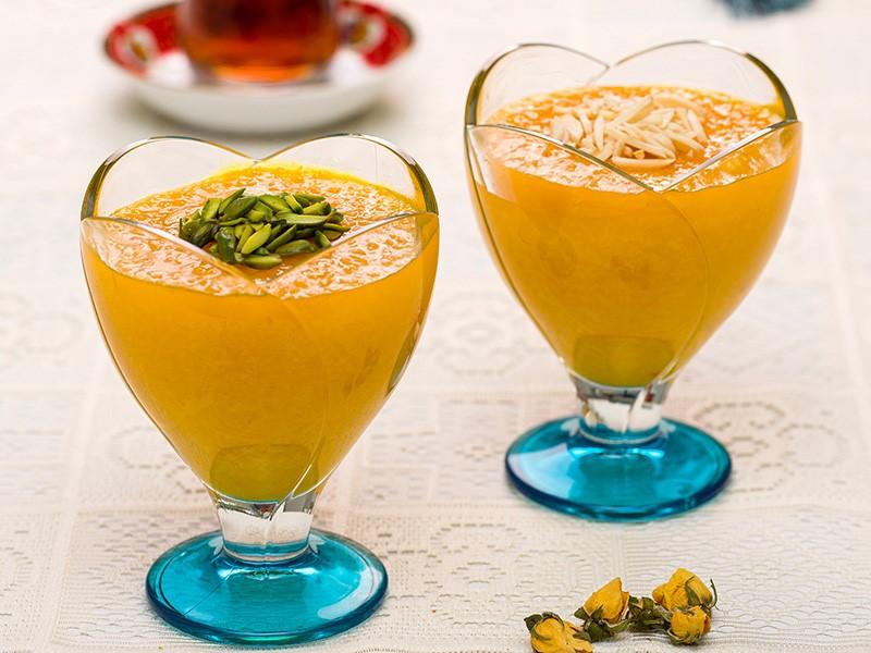 شله زرد، دسر محبوب ایرانی