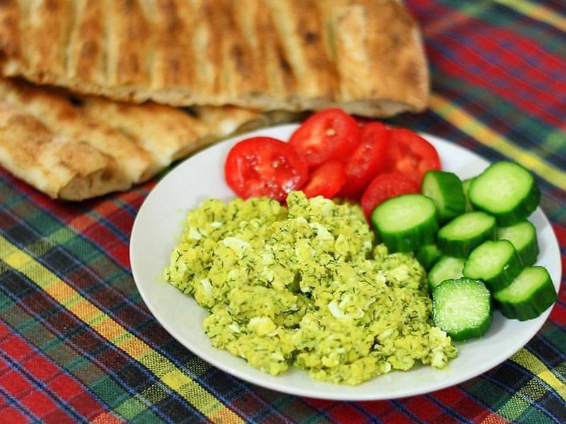 صبحانه در شمال ایران