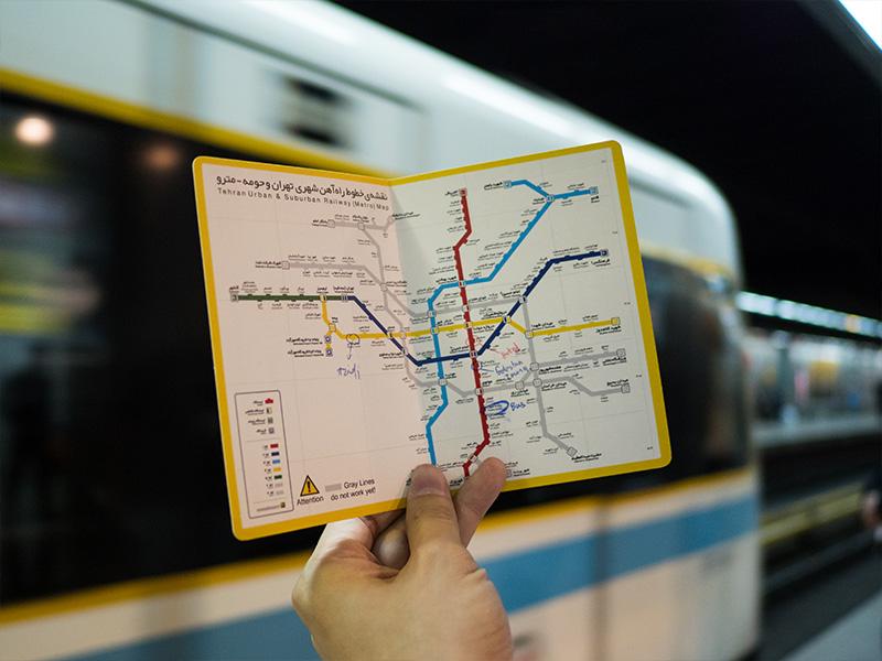 قوانین استفاده از بلیت مترو در ایران