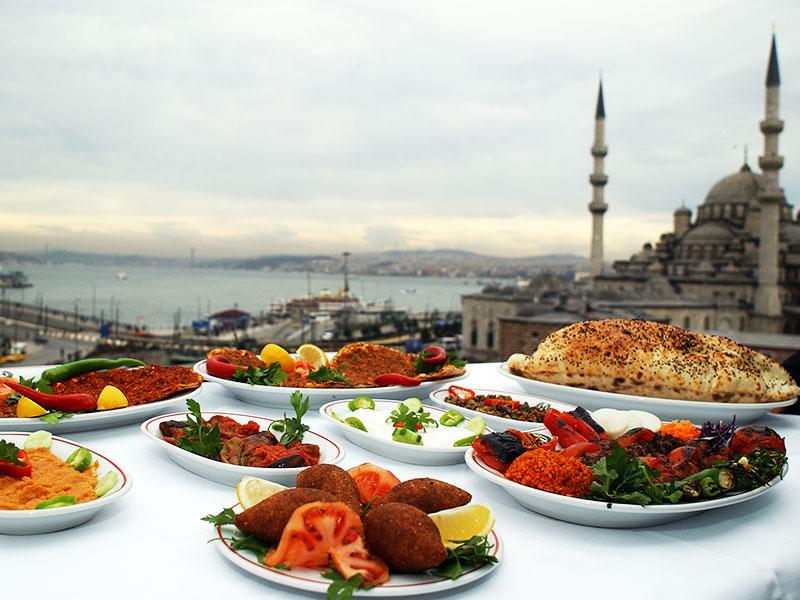 خورد و خوراک در استانبول