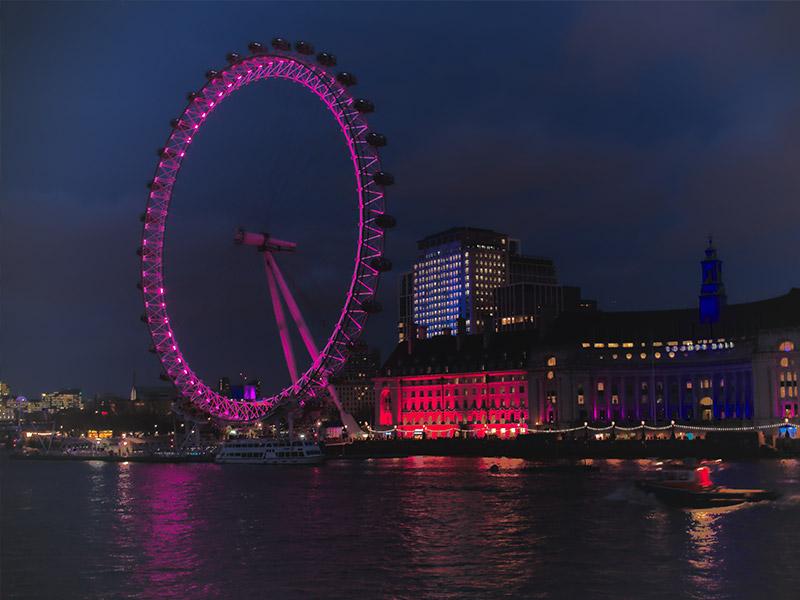 چرخ-و-فلک-لندن-در-شب