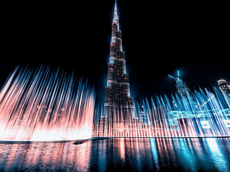 امکانات و زیبایی های برج خلیفه دبی