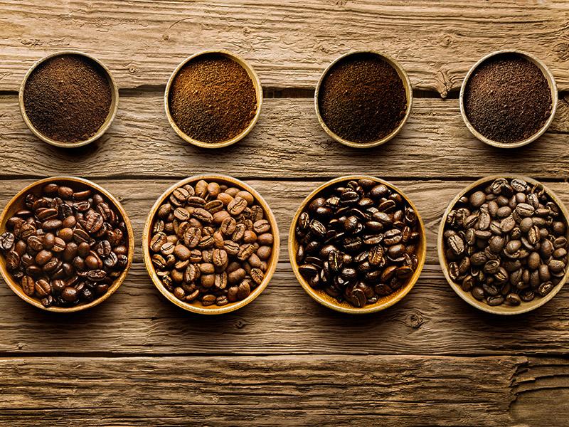 انواع دانه قهوه در دنیا