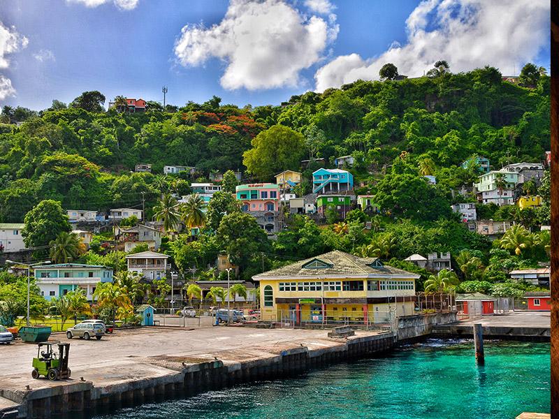 دزدان دریایی کارائیب در سنت وینسنت