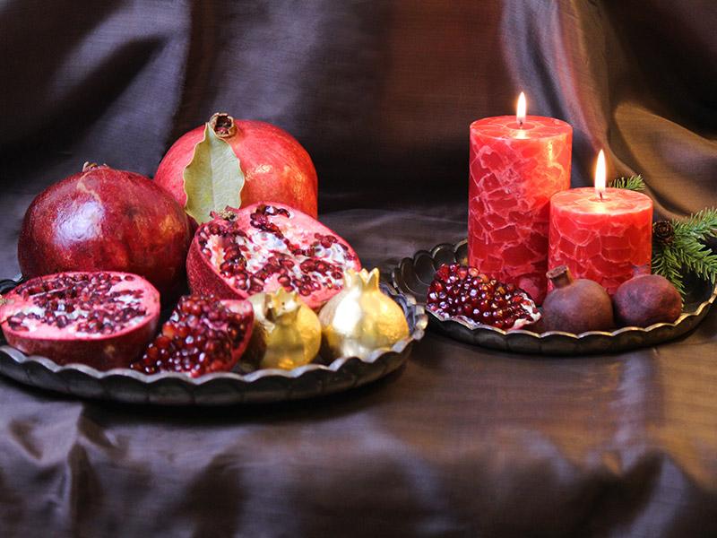 مراسم شب یلدا در شهرهای مرکزی ایران