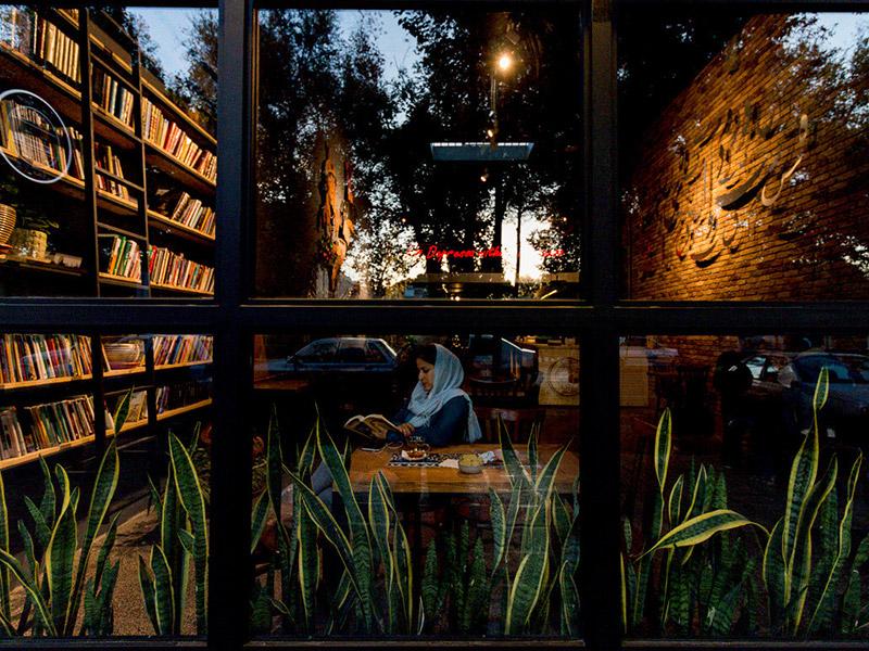 کافه رادیو در شهر اصفهان