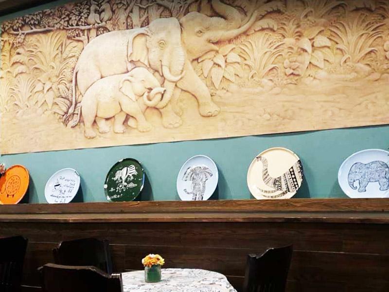 کافه فیل در شهر اصفهان