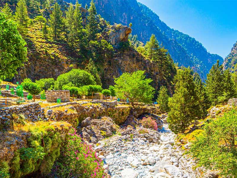 آشنایی با پارک ملی تنگه ساماریا در کشور یونان، طولانی ترین تنگه در اروپا