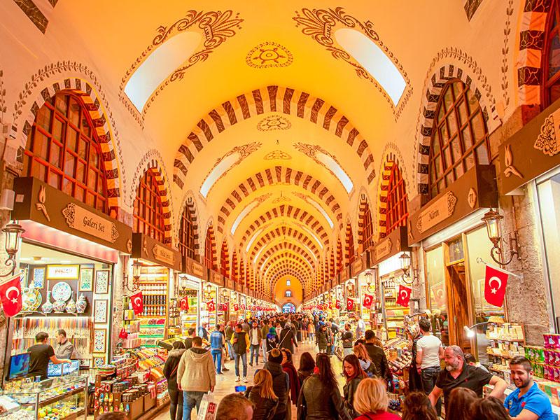 معرفی رستوران نصرت در بازار بزرگ شهر استانبول ترکیه