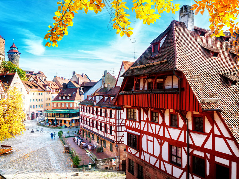 شهر نورنبرگ آلمان، زادگاه اولین ماشین چاپ اروپا