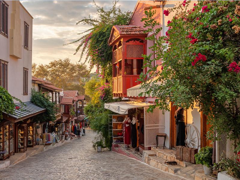 روستای کیرازلی کوش آداسی، روستایی دیدنی در ترکیه