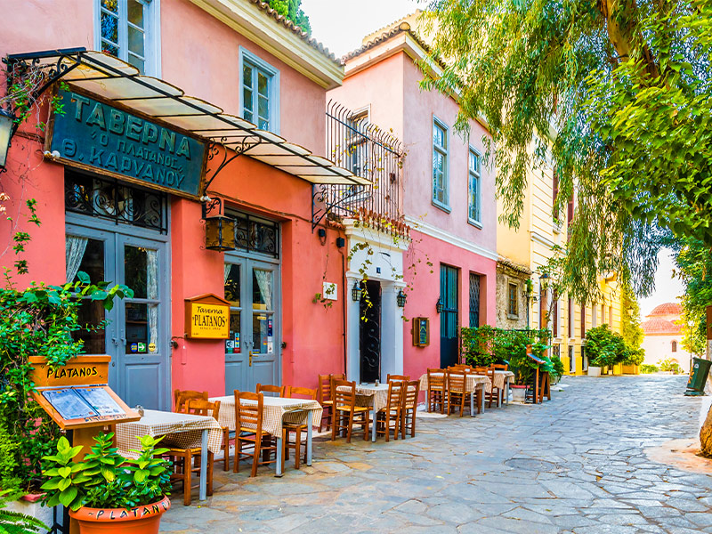 رستوران های آتن در کشور یونان