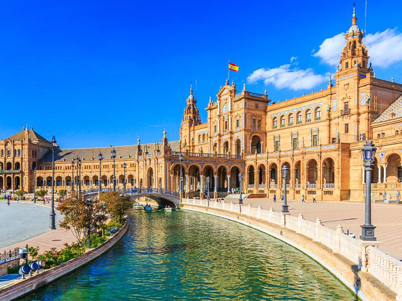 شهر سویل در اسپانیا