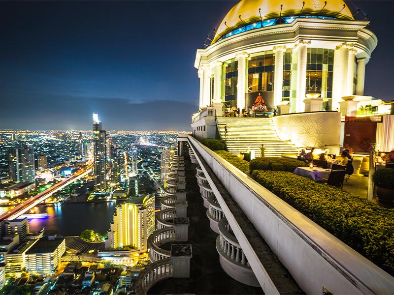 | مرتفع ترین رستوران های آسمانی دنیا