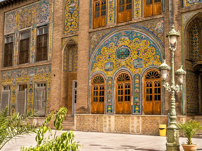 بنا های تاریخی تهران