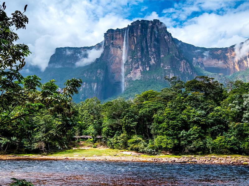 آبشار آنجل در ونزوئلا